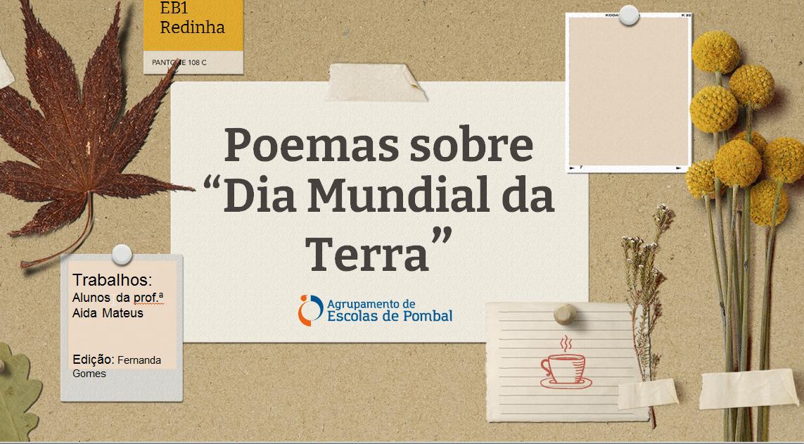 Dia Mundial da Terra - Poemas
